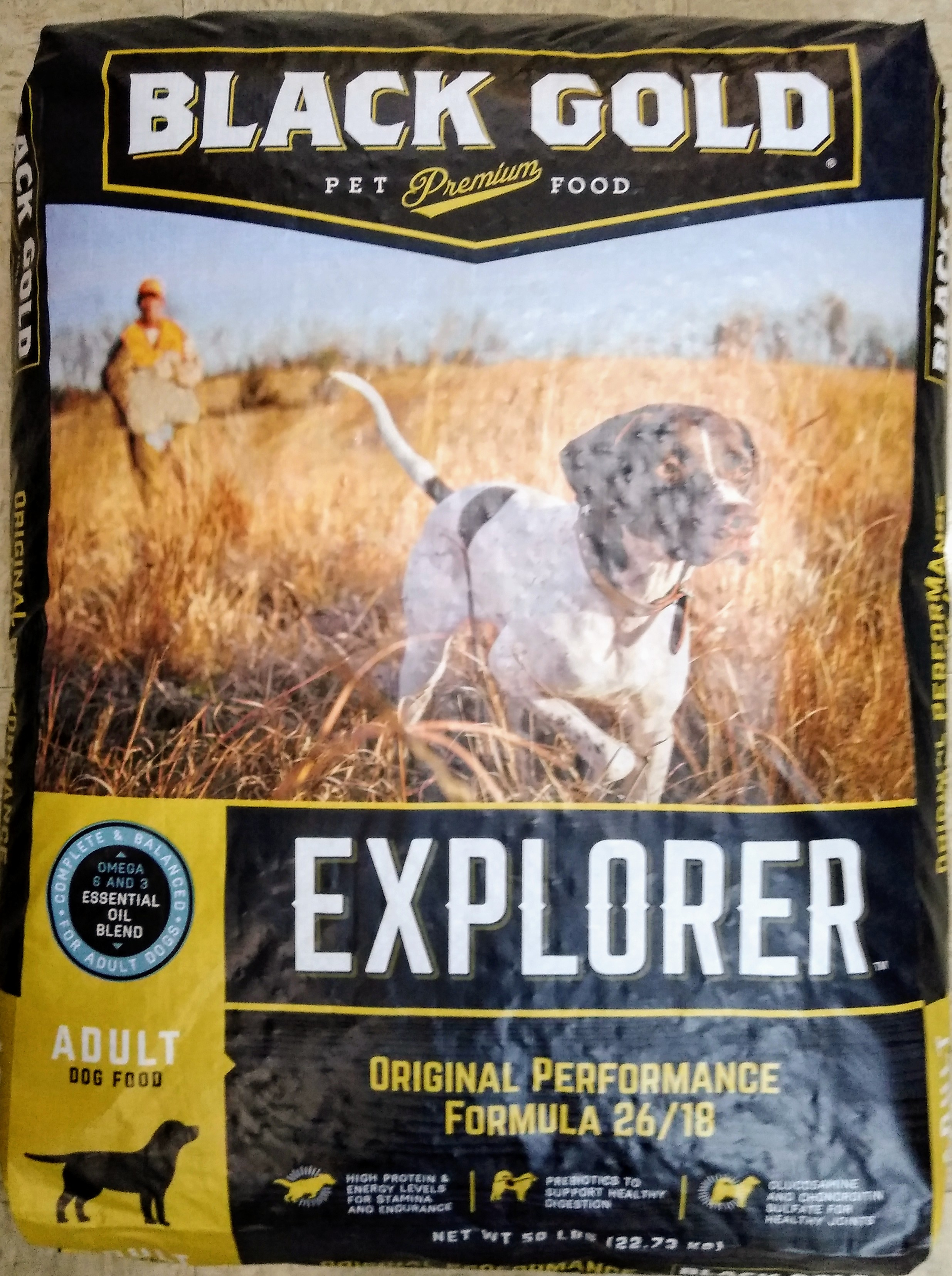 Black Gold Dog Food Performance50LB 26/18